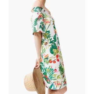 J. Crew Into the Wild off the shoulder dress!